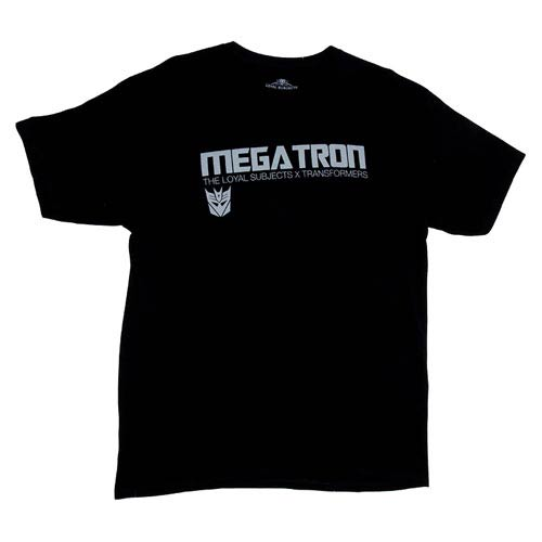 Transformers Megatron Logo Black T-Shirt