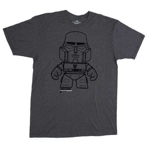 Transformers Megatron Gray T-Shirt