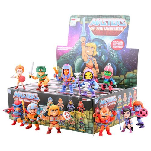 Masters of the Universe Series 1 Mini-Figure Display Case