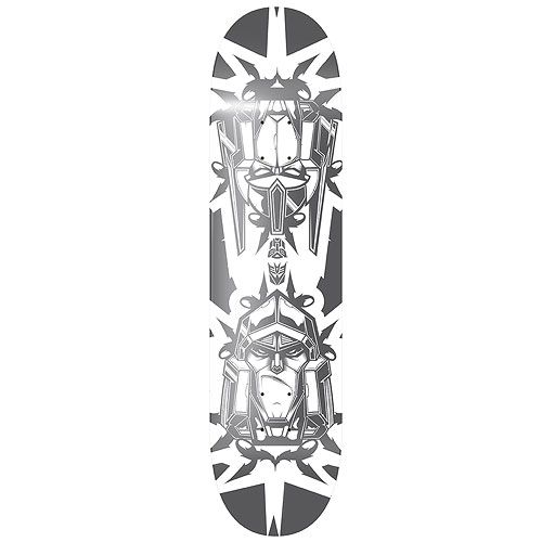 Transformers Megatron vs. Optimus Prime Skateboard Deck
