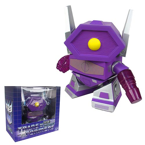 Transformers Shockwave 8-Inch Vinyl Action Figure