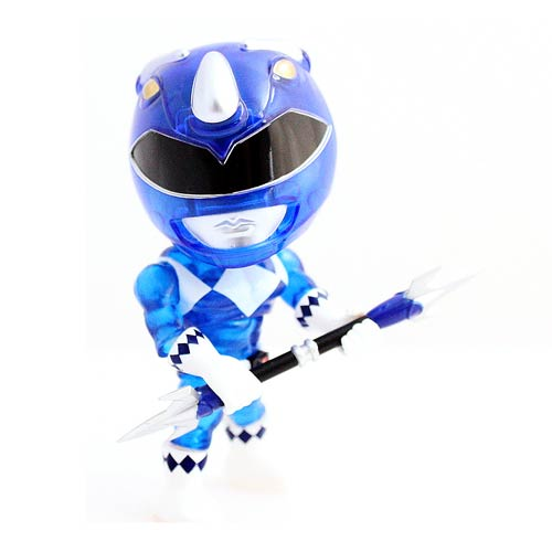 MMPR Blue Ranger Crystal Edition Action Vinyl Figure