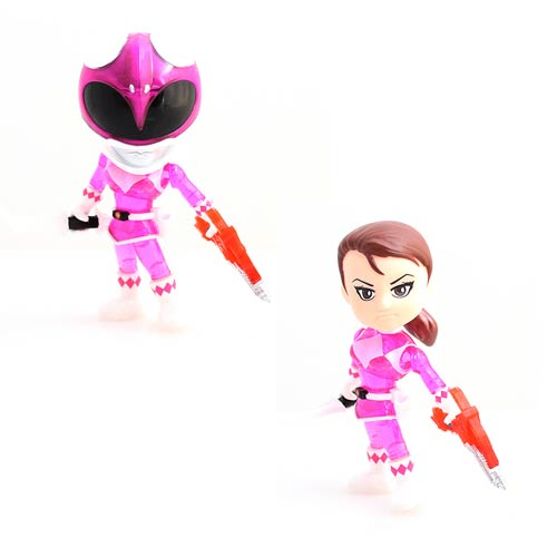 MMPR Pink Ranger Crystal Edition Action Vinyl Figure