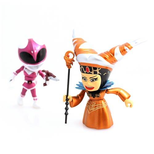 MMPR Metallic Rita vs. Pink Ranger Vinyl Figures 2-Pack