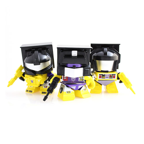 Transformers Yellow Constructicon Action Vinyl Figures 3-Pk