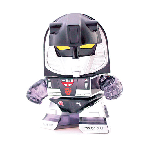 Transformers Black Mirage Transparent Edition Vinyl Figure