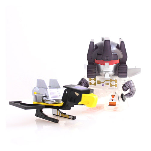 Transformers Transparent Frenzy and Buzzsaw Figure 2-Pack