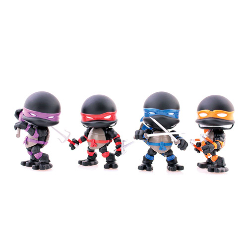 TMNT Stealth Action Vinyl Figures 4-Pack