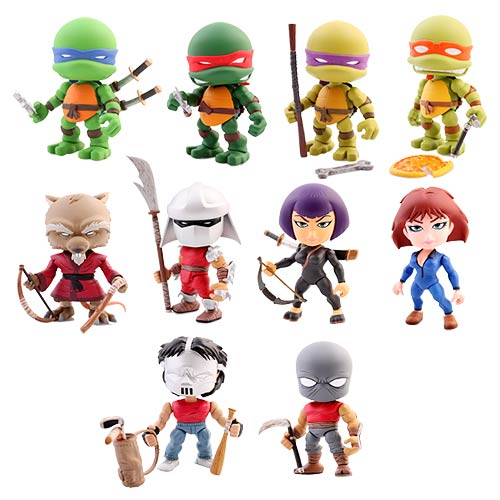 Teenage Mutant Ninja Turtles 3-Inch Random Figure 4-Pack