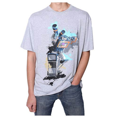 Transformers Soundwave Paint White T-Shirt