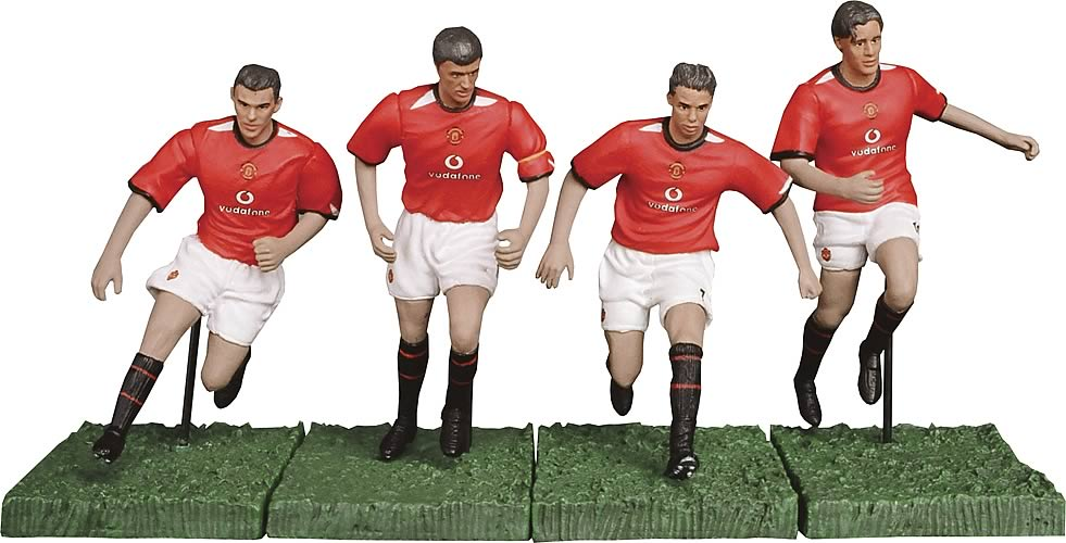 Manchester United 3-inch Figure Twin Pack Series 1 Set