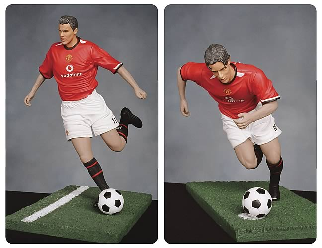 Manchester United 12-inch Roto Figure Series 1 Set