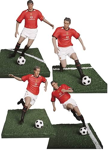 Manchester United 6-inch Figure 4-Pack Series 1