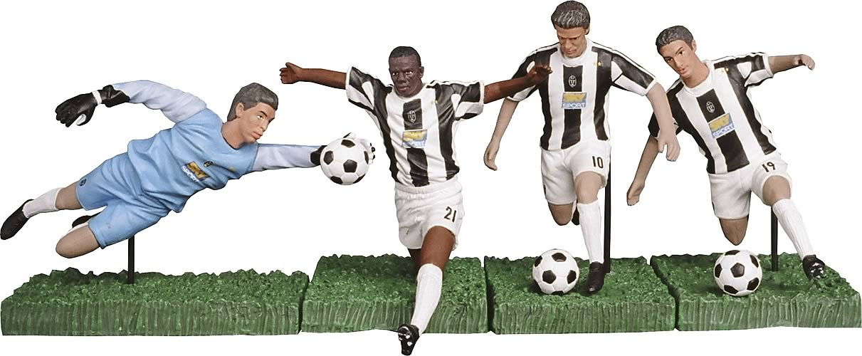 Juventus 3-inch Figure Twin Pack Series 1 Case