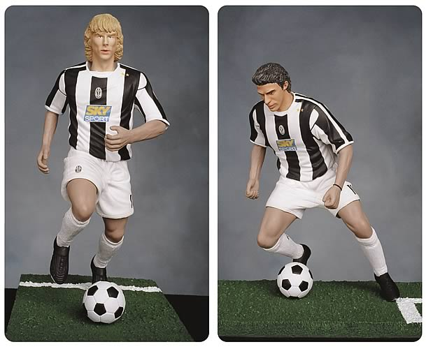 Juventus 12-inch Roto Figure Series 1 Set