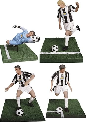 Juventus 6-inch Figure 4-Pack Series 1