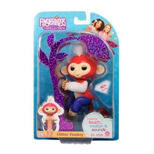 Fingerlings Liberty Glitter Monkey