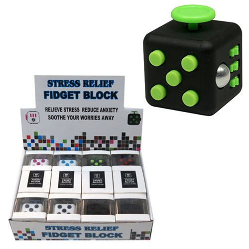 Stress Relief Fidget Blocks Random 3-Pack