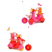 Lalaloopsy Remote Control Scooter Vehicle Set