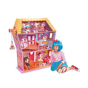 Lalaloopsy Sew Magical House Doll House Playset