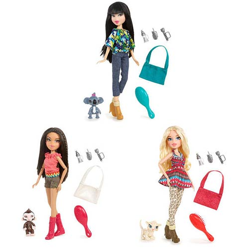 Bratz In the Wild Doll Case