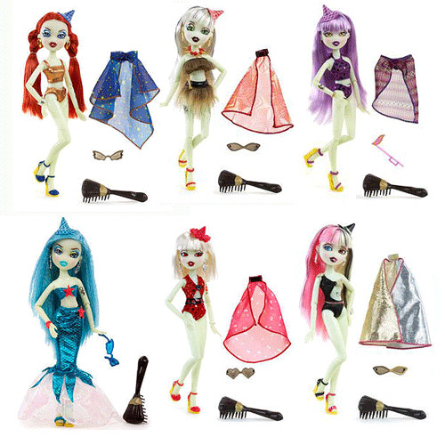 Bratz Bratzillaz Midnight Beach Doll Wave 2 Set