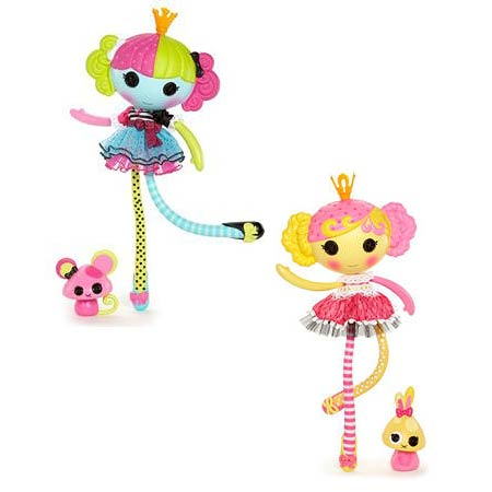 Lalaloopsy Lala-Oopsie Large Rag Doll Wave 2 Set