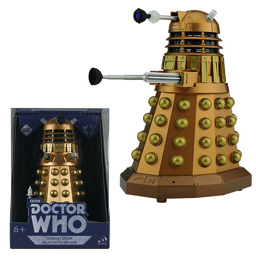 Doctor Who Assault Dalek Bluetooth Speaker