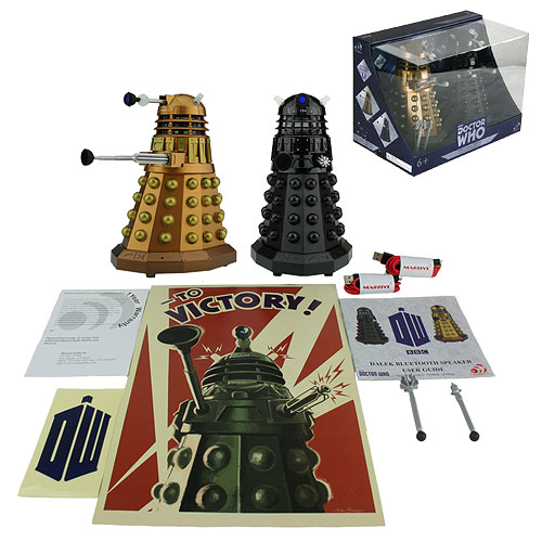 Doctor Who Dalek Sec and Assault Bluetooth Speaker Pack