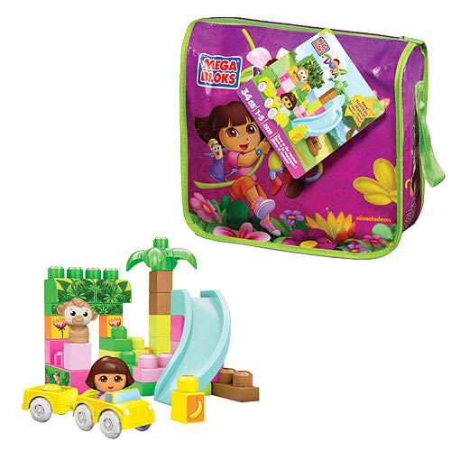 Mega Bloks Dora the Explorer Dora To The Rescue! Playset