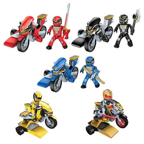 Mega Bloks Power Rangers MF Hero Racers Series 2 Case