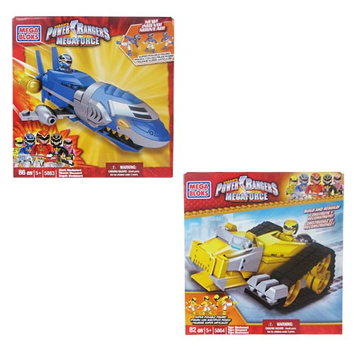 Mega Bloks Power Rangers Megaforce Zords Series 2 Case