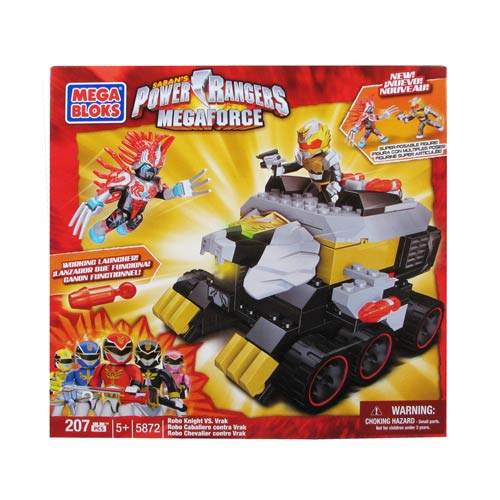 Mega Bloks Power Rangers Megaforce Showdown Series 2 Case