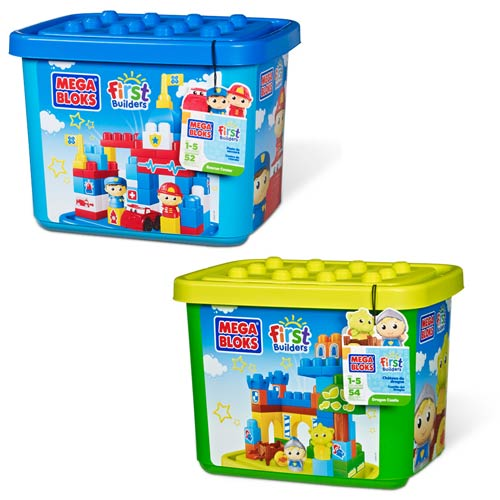Mega Bloks First Builders Medium TubTown Set 2-Pack