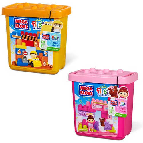 Mega Bloks First Builders Small TubTown Set 2-Pack