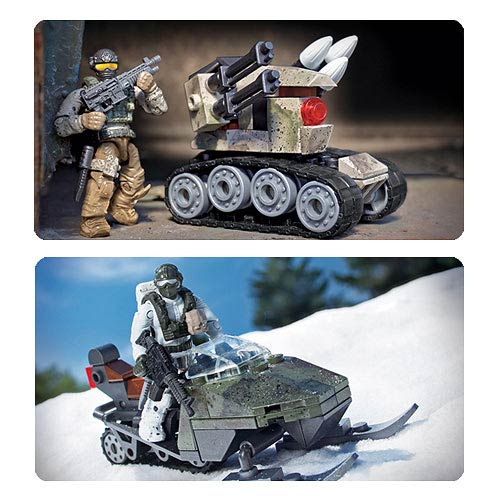 Mega Bloks CoD Light Armored Construction Vehicle Set