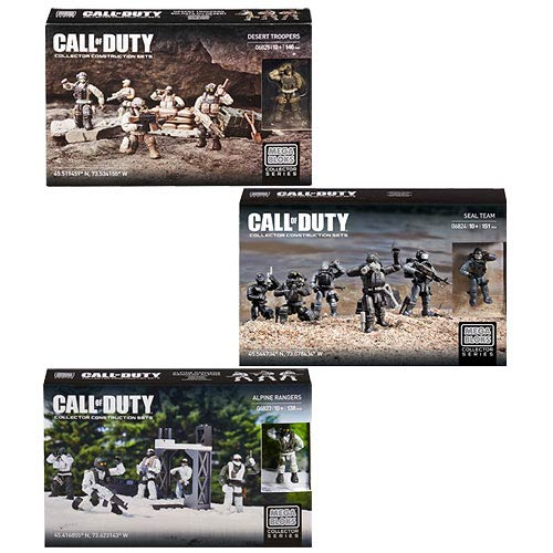 Mega Bloks Call of Duty Care Package Troop Pack Set