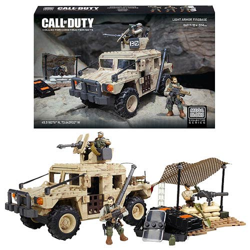 Mega Bloks Call of Duty Light Armor Firebase Playset