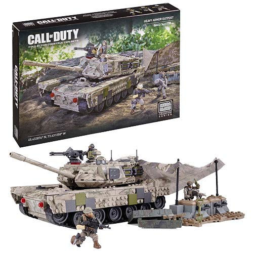 Mega Bloks Call of Duty Heavy Armor Outpost Playset