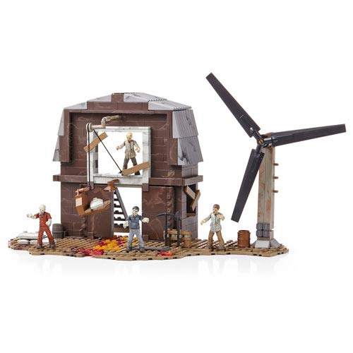 Mega Bloks Call of Duty Zombie Transit Farm Playset