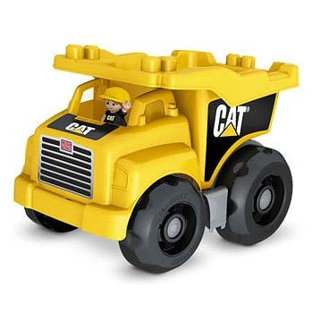 Mega Bloks Caterpillar Large Dump Truck Vehicle