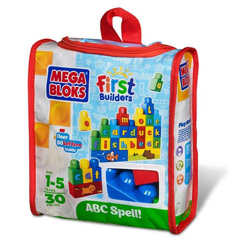 Mega Bloks ABC Spell! First Builders Set