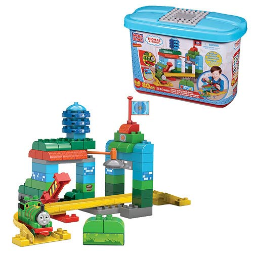 Mega Bloks Thomas the Tank Engine Percy At The Wash Down