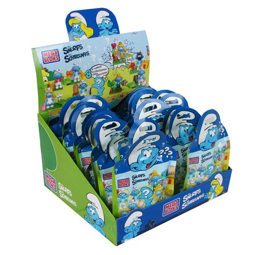 Mega Bloks Smurfs Blind Pack Micro Action Figures 6-Pack