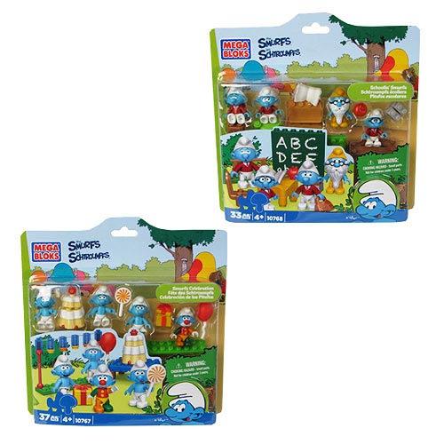 Mega Bloks Smurfs Multipack Asst. Case