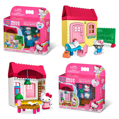 Mega Bloks Hello Kitty Class Assortment Case