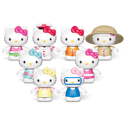 Mega Bloks Hello Kitty Mini-Figure Blindpacks Series 3 Case