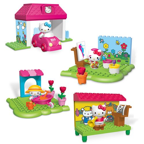 Mega Bloks Hello Kitty Accessory Pack Assortment Case