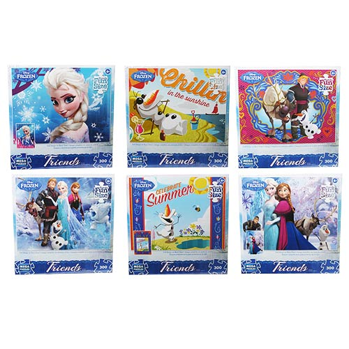 Disney Frozen Puzzle Assortment Case