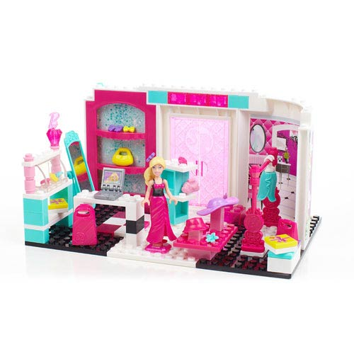 Mega Bloks Barbie Build N Style Fashion Boutique Playset